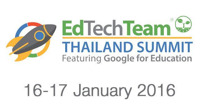 2016 Thailand Google Summit
